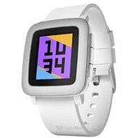Photo Pebble Time (White)