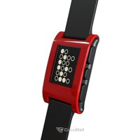 Photo Pebble SmartWatch (Cherry Red)