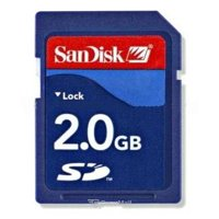 Memory card, USB Flash SanDisk SD 2Gb